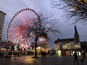 Fantasy Aisle, Düsseldorf markets in the old town