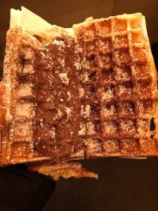 Fantasy Aisle, Waffles with Nutella