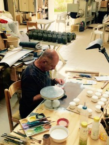 Fantasy Aisle, An artist at work in the crafts village of Ta' Qali