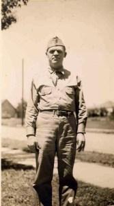 Fantasy Aisle, My grandfather, Bill Glynn, Camp Garant 1943