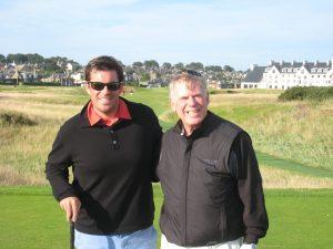 Fantasy Aisle, Annual father son golfing trip in Ireland