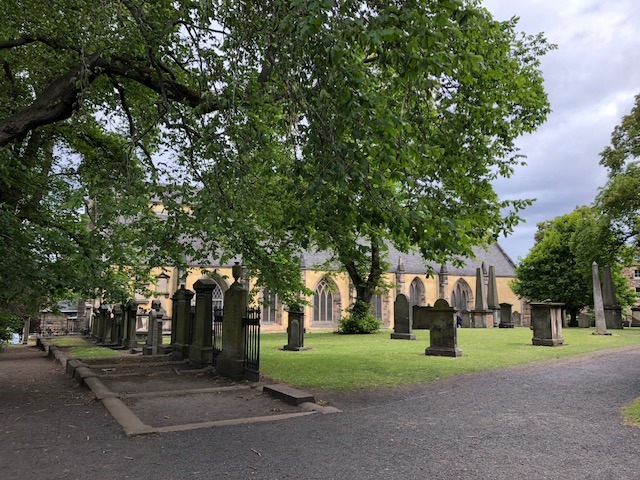 Fantasy Aisle, Greyfriars Kirkyard, an inspiration for Harry Potter and other Edinburgh Tales