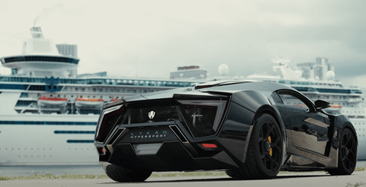 W Motors Lykan Hypersport - most expensive car