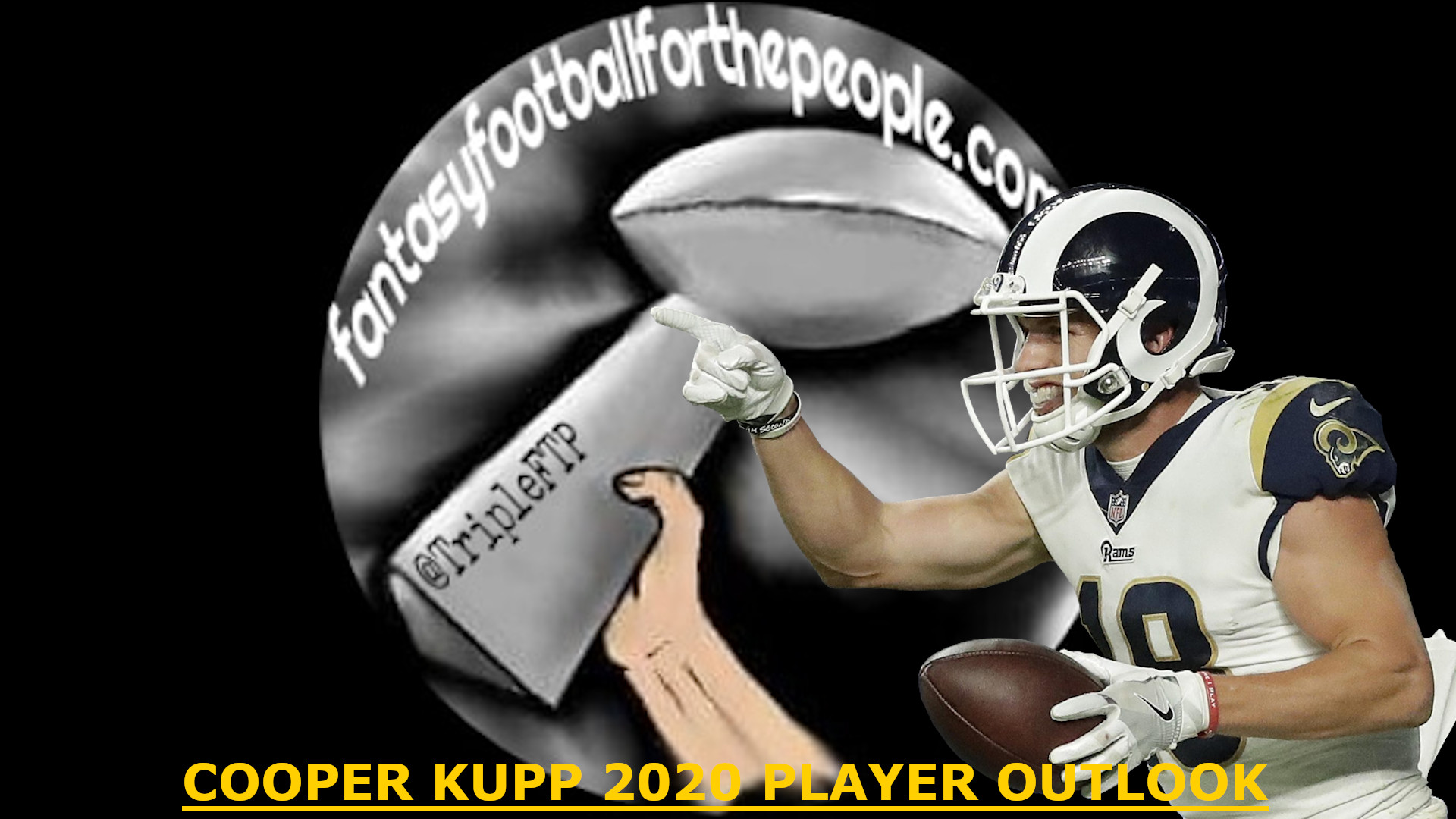 2020 Player Outlook Wr Cooper Kupp Fantasy Football For The People