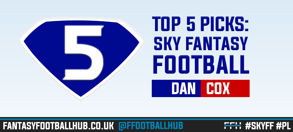 Sky Champion Dan Cox's 5 tips for game week 15