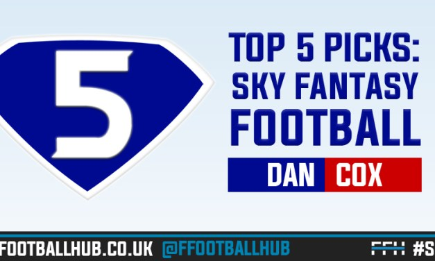 Sky Fantasy Football – 5 tips for Gameweek 24