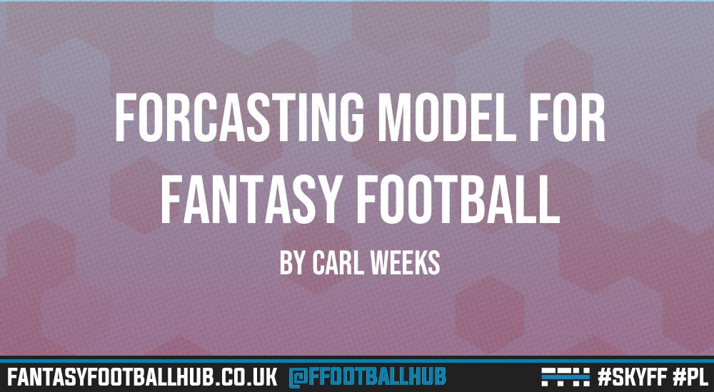 Forecasting model for fantasy football