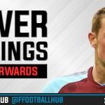 FPL Power Rankings 2017/18: Forwards (GW5)