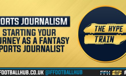 Starting your Journey as a Fantasy Sports Journalist