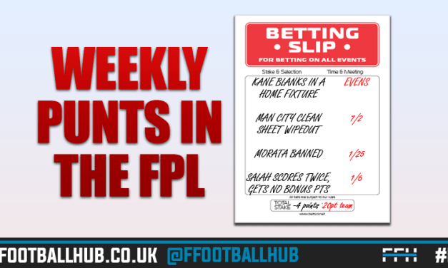 Weekly FPL Punts – GW30