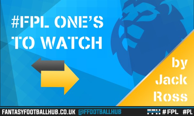 FPL One's to Watch: GW37