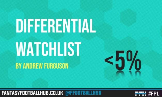 Differential Watchlist – FPL Tips GW12