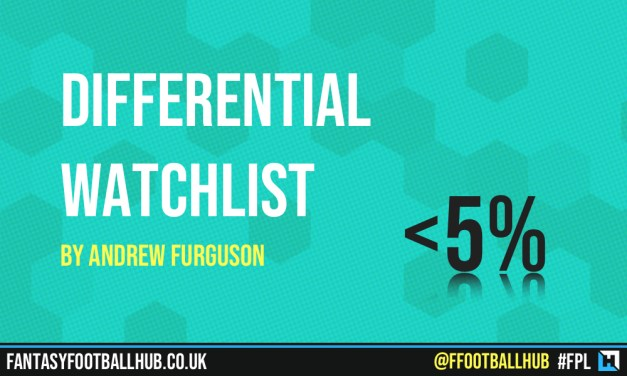 Differential Watchlist – FPL Tips GWs 18 and 19