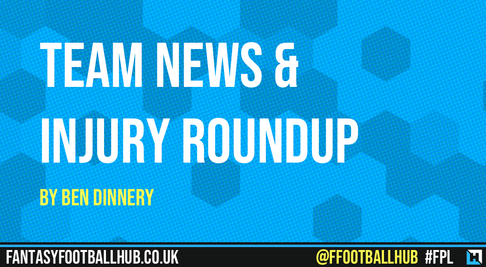 Team News & Injury Roundup by Ben Dinnery – GW23