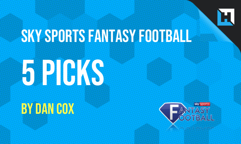 Sky Sports Fantasy Football Tips - 5 Picks for Gameweek 36