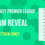 Gameweek 38 Team Reveal by Matthew Jones – The Final Countdown