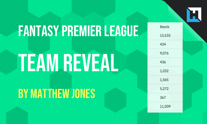 FPL GW33 Team Reveal by Matthew Jones – Free Hit Chip Lessons