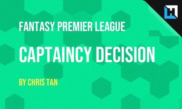 FPL Gameweek 2 Captain – The Informed Captaincy Decision