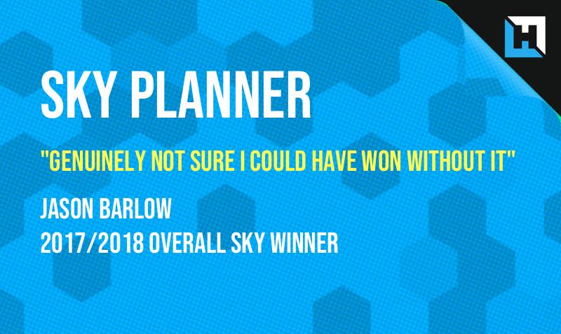 Ian Parrin's Sky Sports Fantasy Football Planning Spreadsheet – DGW Fixtures Update