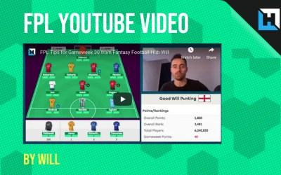 Hub FPL YouTube Video – Season Review
