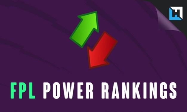FPL Power Rankings – Gameweek 37 Transfer Advice
