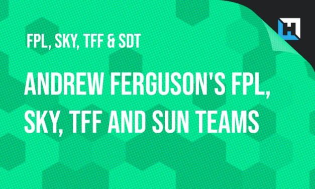 Andrew Ferguson's FPL, Sky, TFF and Sun Drafts and Sky/TFF Transfer Strategies