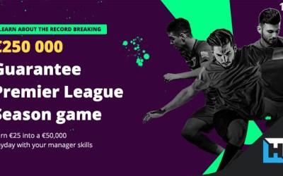 Fanteam offers 250,000€ in Fantasy Premier League Season Tournament