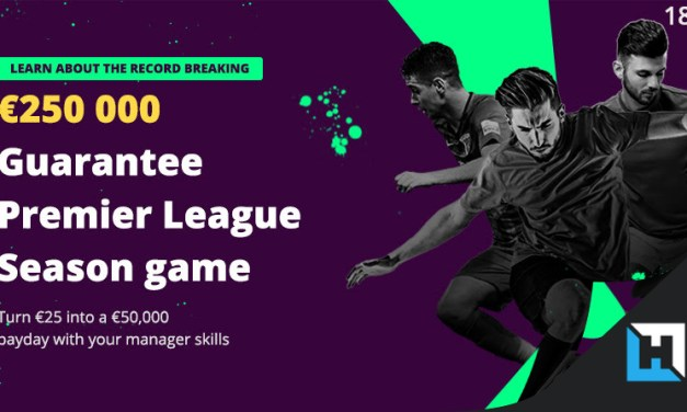 Fanteam offers 250,000€ in Fantasy Premier League Season Tournament