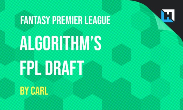 Algorithm's Gameweek 1 FPL Draft (Ali & Anna's Teams)