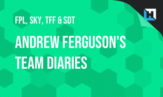 Andrew Ferguson's Weekly FPL, Sky, TFF and Sun Diary – GW1/GW2