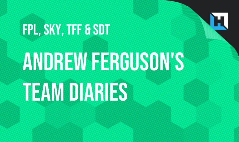 Andrew Ferguson's Weekly FPL, Sky, TFF and Sun Diary – GW2/GW3