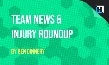GW4 Team News and Injury Roundup