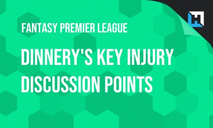 Ben Dinnery's Key Injury Discussion Points