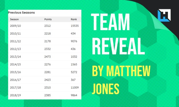Matthew Jones' GW2 FPL Team Reveal (feat. the Twitter Watchlist!)