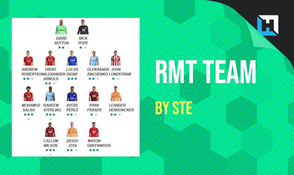 RMT Team for Gameweek 2