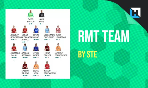 RMT Team for Gameweek 2