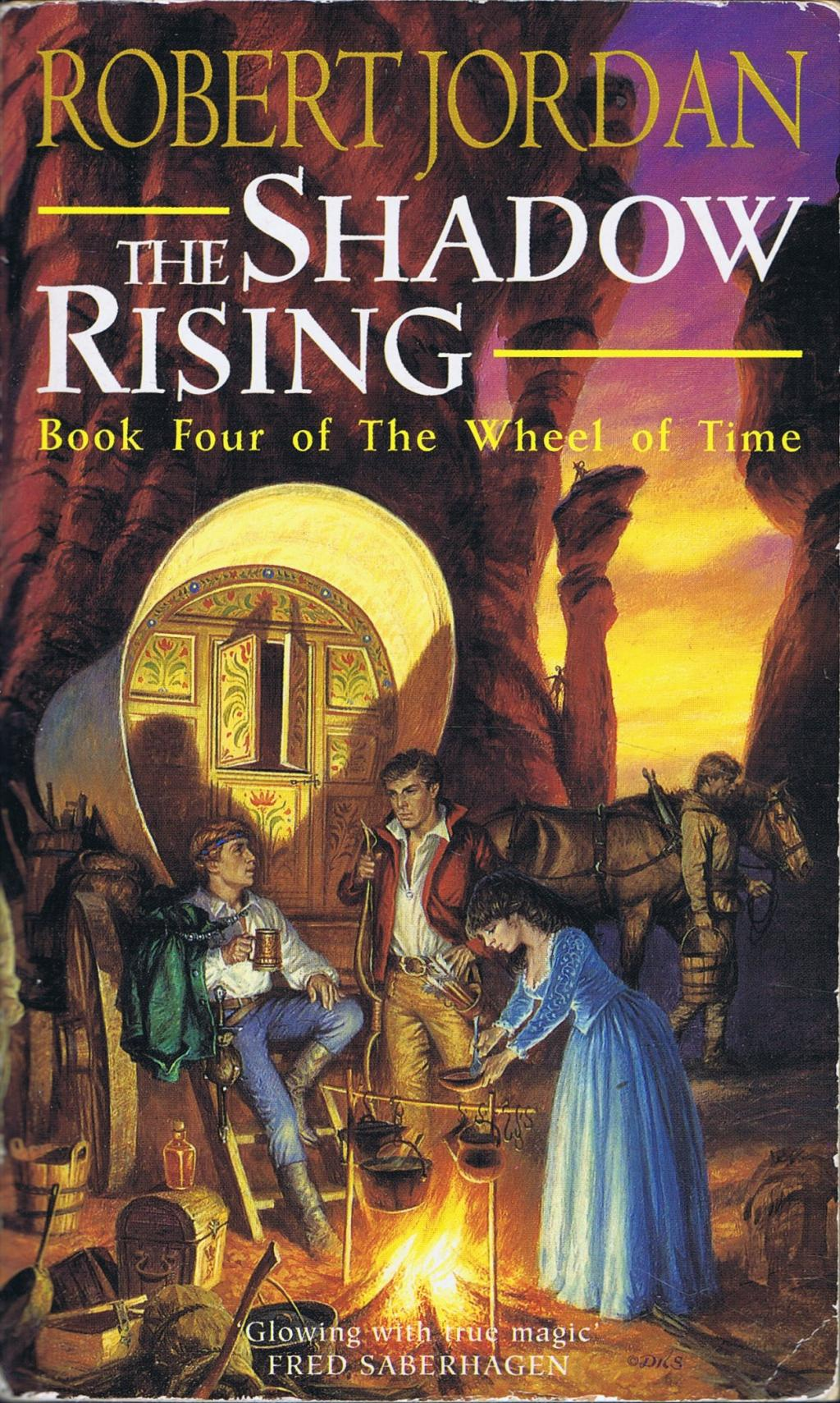 The Shadow Rising Av Robert Jordan Pocket Fantasyhyllan