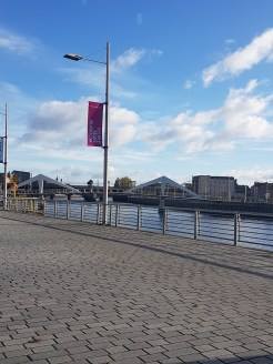 River walk along the Clyde on the way to the Vintage Kilo Sale