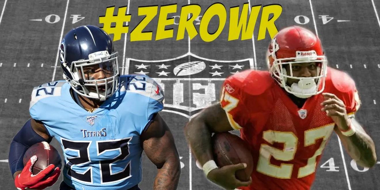 zero wide receiver, zero wide receiver draft strategy, fantasy football