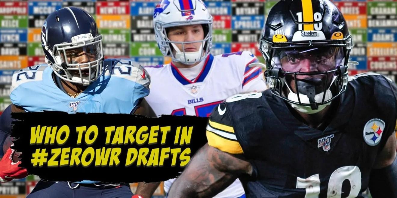 zero wide receiver, zero wide receiver drafting