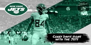 Corey Davis Signs with Jets