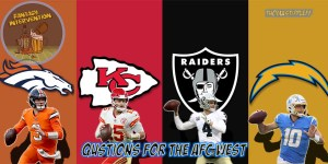 Questions for the AFC West