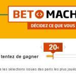 La Bet Machine du PMU