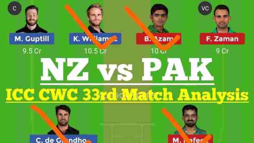 NZ vs PAK Dream11 Team, PAK vs NZ Dream 11 team prediction