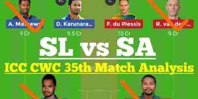 SL vs SA Dream11 Prediction