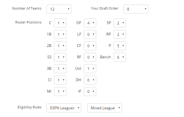 FantasyPros Fantasy Baseball Mock Draft Simulator Review