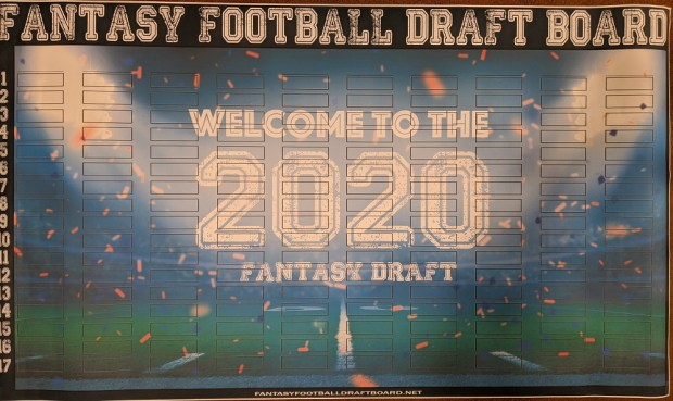 Fantasy Football Live Draft