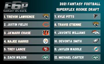 2021 Fantasy Football Superflex Rookie Draft