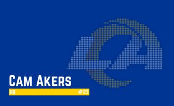 Cam Akers Dynasty Football 2021