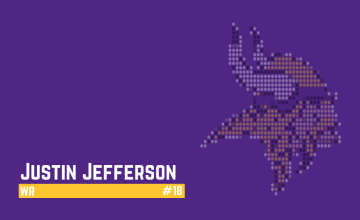 Justin Jefferson 2021 Dynasty Football